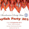 Annual Crayfish Party @ Rembrandt Hotel – 20th September 2014