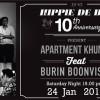 Hippie De Bar 10th Anniversary – Saturday 24th January 2015
