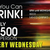 Every Wednesday 500 baht for all you can drink @ Nest Rooftop Lounge Bangkok