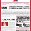 "Speaker Luncheon ""Crisis communication in the social media fishbowl @ Conrad Bangkok – 10th September 2014"