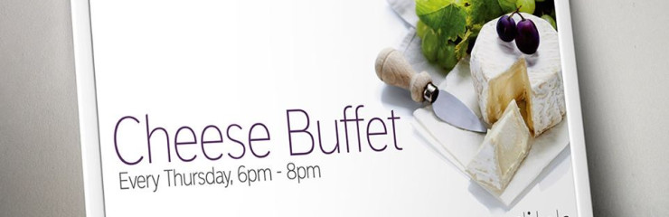 299 Baht Cheese Buffet every Thursday at Wine Connection Silom