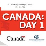 Canada Day 1 Exhibition At Maneeya Center / 25-31 July 2017