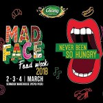 Mad Face Food Week 2018 At Sermsuk Warehouse Pepsi Pier 2-4 March 2018