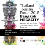 Thailand Tourism Forum 2018 At InterContinental Bangkok - 22 January 2018