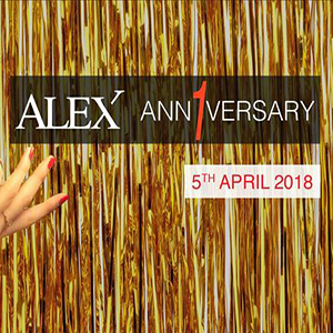 Alex 1 Year Anniversary At Alex Brasserie – 5th April 2018