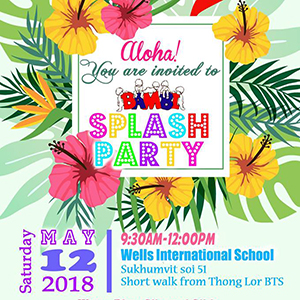 BAMBI Annual Splash Party At Wells International School – 12th May 2018