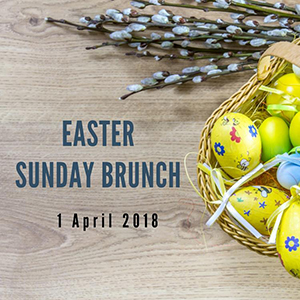 Easter Sunday Brunch At Royal Orchid Sheraton Hotel & Towers – 1st April 2018