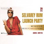 Bruno Mars Selvarey Rum Launch Party At Havana Social - 29th April 2018
