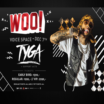 WOO Fest ft TYGA and More At Voice Space – 7th December 2017