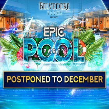 EPIC Pool Party at Bangkok Marriott Marquis Queen's Park – 30th December 2017