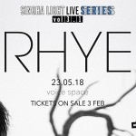 Singha Light Live Series Vol 3.1 – RHYE At Voice Space – 23rd May 2018