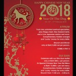 Celebration Chinese New Year's At The Landmark Bangkok Hotel 16th - 17th February 2018
