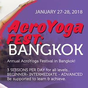 AcroYoga Fest Bangkok 2018 At THAI EURO TEAMGYM THAILAND 27-28 January 2018
