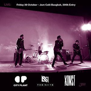 LIVE: The Note, Kunst & City Plant At JAM – 20th October 2017