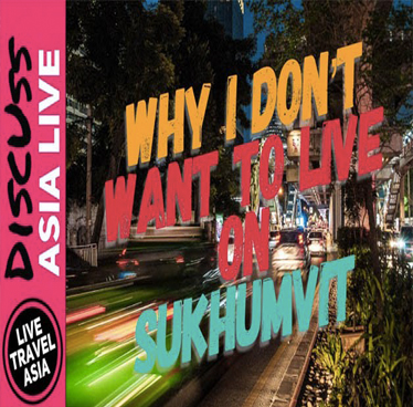Guest Vlog LIVE TRAVEL ASIA – Why We Don't Live on Sukhumvit, The Best Area in Bangkok to Stay or Live (Ari vs Sukhumvit)