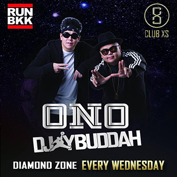 DJ Ono & DJ Buddah at Club XS Bangkok – 18 July 2018