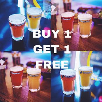 Buy 1 Get 1 Free at Happy Trees Bistro & Bar Bangkok