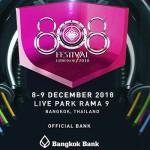 808 Festival 2018 at Live Park Rama 9 - 8 December 2018