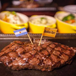 750 baht 250 gm Argentine Grass Fed Ribeye at The Steakhouse Co. Bangkok - Friday Special