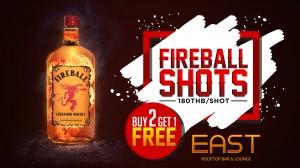 Fireball-Shots