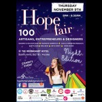 The Hope Fair First Night Edition! – 9 November 2017