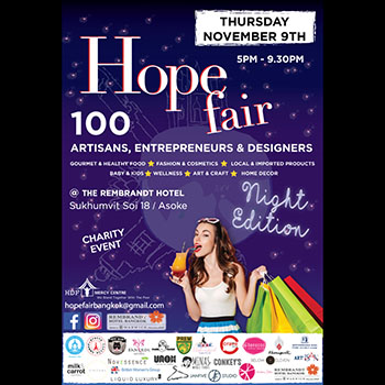 The Hope Fair First Night Edition! – 9 November 2017