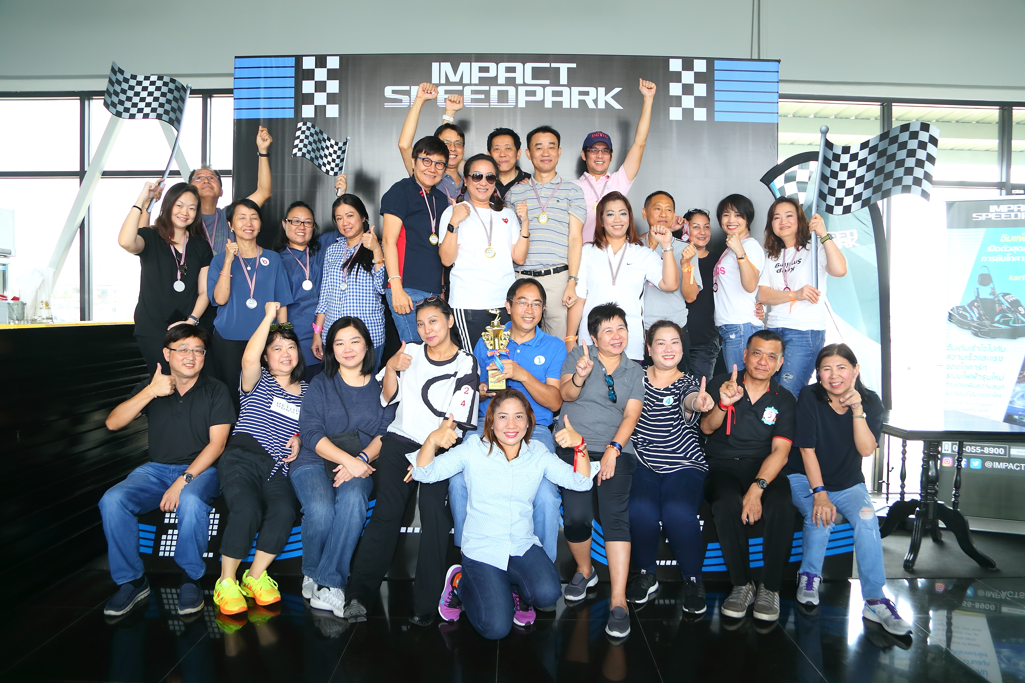 IMPACT Speed Park's team building