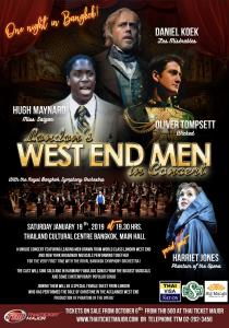 London's West End Men Poster