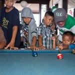 Pool Game at 15 Palms