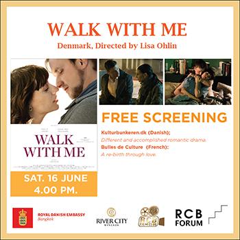 RCB FILM CLUB: 'WALK WITH ME' ('De Standhaftige'), Denmark – 16 June 2018