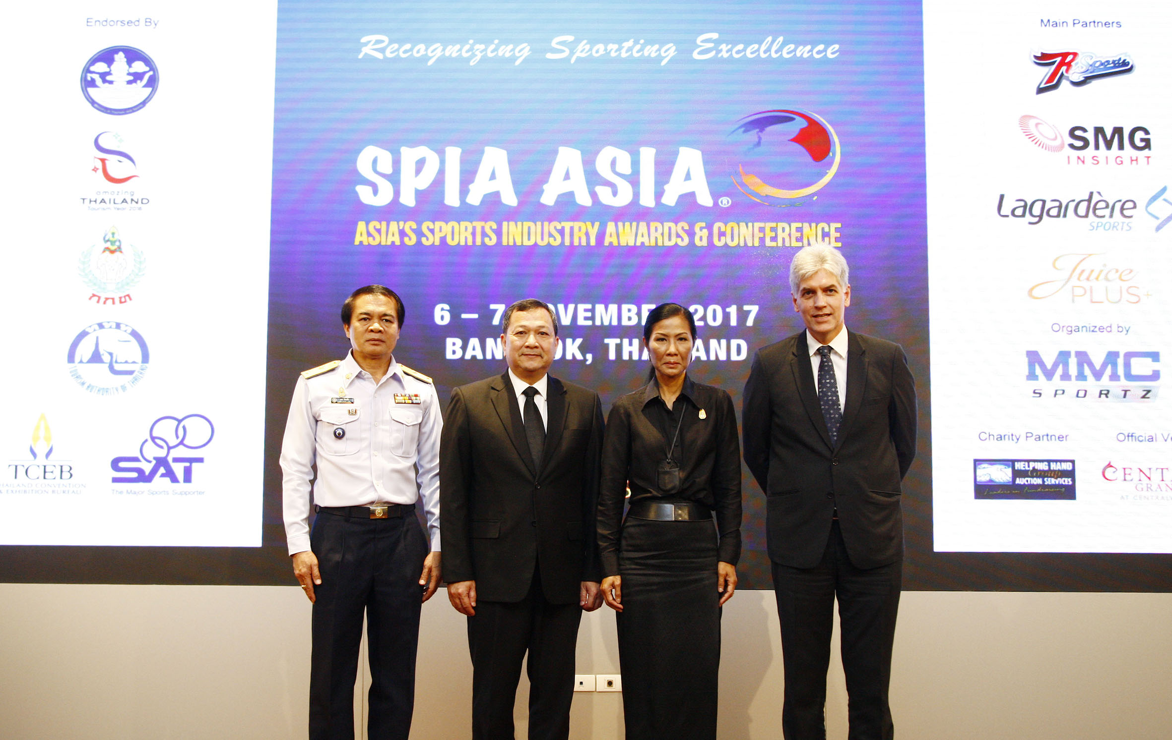 Thai sport leads the way with 60 submissions making the local finals of SPIA Asia 2017
