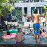 Swimming Pool at 15 Palms 2
