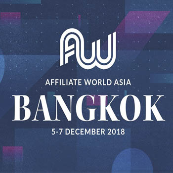 Affiliate World Asia 2018 at Centara Grand and Bangkok Convention Centre – 5th to 7th December