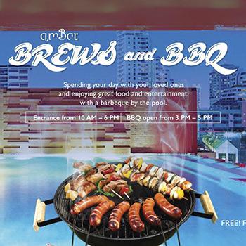BREWS & BBQ at amBar Bangkok – 23 December 2017