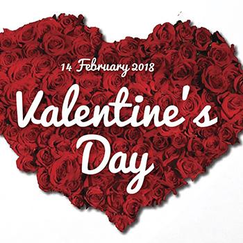 Valentine's Day at amBar Bangkok – 14 February 2018