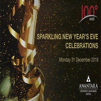 New Year's Eve Dinner Buffet at Anantara Sathorn Bangkok Hotel – Monday 31st December 2018