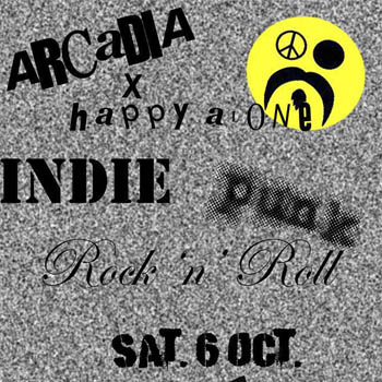 Arcadia x Happy Alone come back party at Aroon Bar – Saturday 6th October 2018
