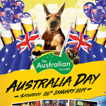 The Australia Day Celebration at The Australian Pub - 26-27 January 2019