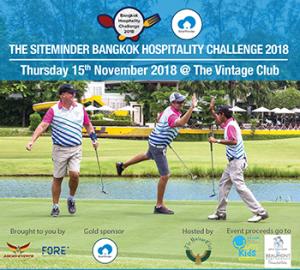 The SiteMinder Bangkok Hospitality Challenge at The Vintage Club – 15 November 2018