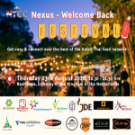 NTCC Nexus - Welcome Back Festival - 23 August 2018