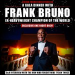 A Gala Dinner with Frank Bruno at Four Points by Sheraton Sukhumvit Soi 15 Bangkok - 17 January 2018