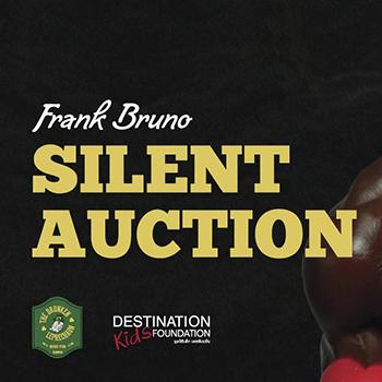 FRANK BRUNO Silent Auction at The Drunken Leprechaun Bangkok – 16 January 2018