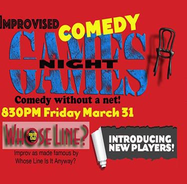 Improvised Comedy Games Night! at Comedy Club Bangkok – Friday 31st March 2017