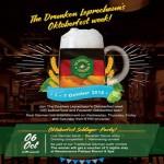 Oktoberfest at The Drunken Leprechaun Bangkok – 1-7 October 2018
