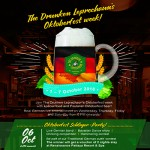 Oktoberfest at The Drunken Leprechaun Bangkok - 1-7 October 2018