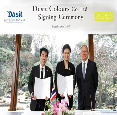 Dusit International forms Joint Venture company with Colours International in Japan