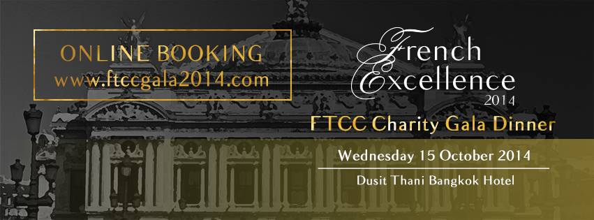 Ftcc Charity Gala Dinner Quot French Excellence Quot Dusit Thani