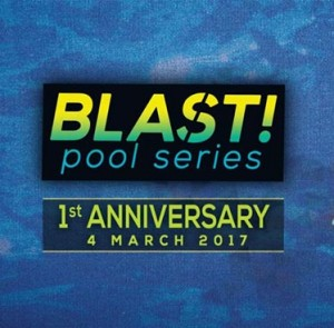 Blast! Pool Series 1st Anniversary at DoubleTree by Hilton Sukhumvit – Saturday 4th March 2017