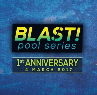 Blast! Pool Series 1st Anniversary at DoubleTree by Hilton Sukhumvit – Saturday 4th March 2017