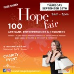 Hope Fair at Rembrandt Hotel & Towers, Bangkok - 28 September 2017